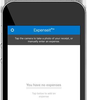 ExpenseIt app